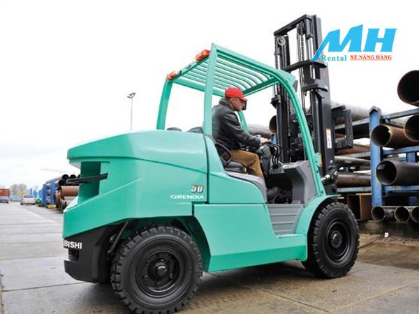 Các loại xe nâng Mitsubishi tại MH Rental có đầy đủ các loại tải trọng