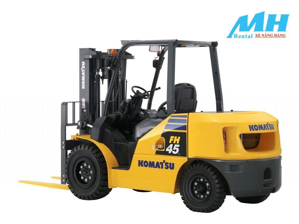 Dòng xe nâng 4.5 tấn nhằm đáp ứng nhu cầu sử dụng của khách hàng