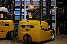Yale là thương hiệu xe có tuổi đời lâu năm và độ uy tín cao, công suất hoạt động mạnh mẽ