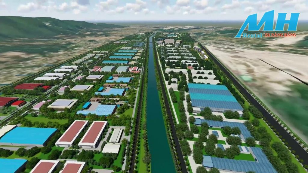 Tổng thể khu công nghiệp Hoàng Mai - Nghệ An