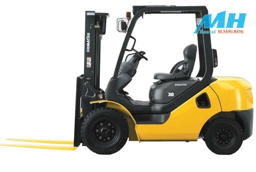 MH Rental – Đơn vị cho thuê xe nâng hàng Komatsu chất lượng