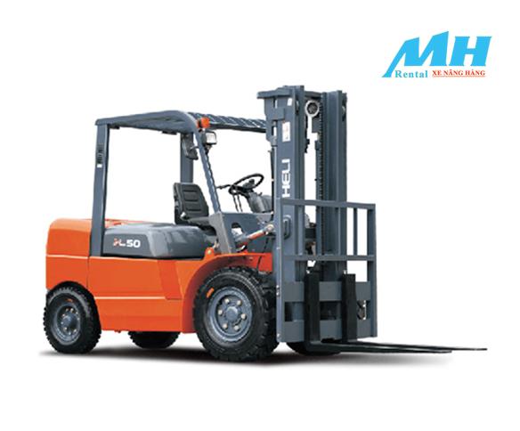 Thuê xe nâng hàng sẽ giúp cho mọi công việc được diễn ra thuận lợi và nhanh chóng hơn